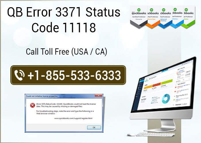 How to fix qb error 3371 status code 11118?