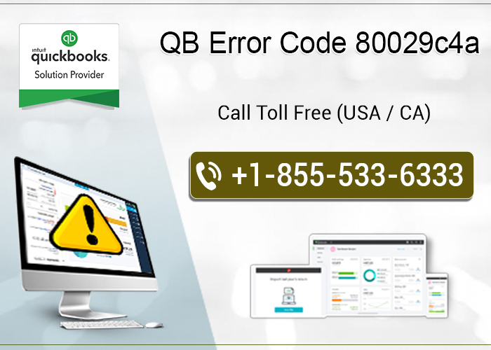 How to resolve qb error code 80029c4a?
