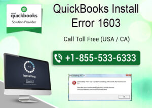 Troubleshoot QuickBooks Install error 1603 with these ways