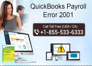 How to fix QuickBooks Payroll error 2001