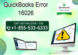 Read more about the article How to fix QuickBooks error 16026?