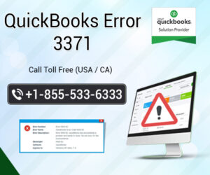 How do I fix error 3371 in QuickBooks?